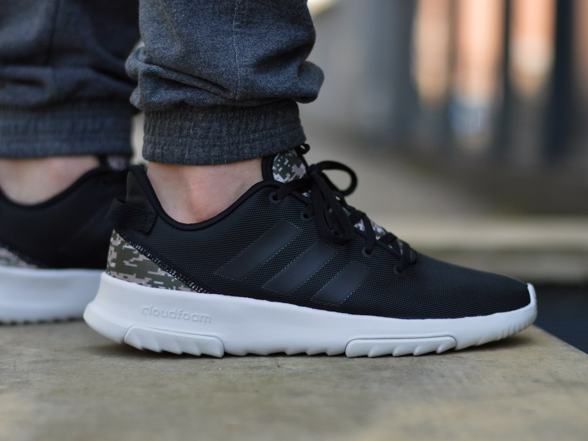 adidas Cloudfoam Racer Trainers Mens